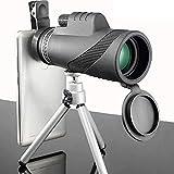 YGB Fernglas, Monokular 40X60 Leistungsstarkes Fernglas Zoom Great Handheld Telescope LLL Night...