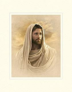 Simon Dewey Grace and Truth 11x14 Mat- Portrait of Jesus Christ- New Testament Art