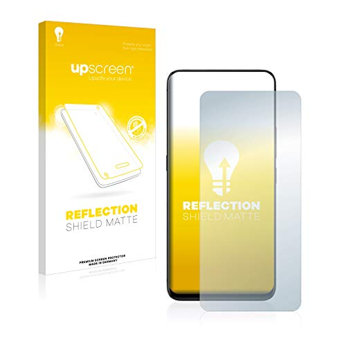upscreen Entspiegelungs-Schutzfolie kompatibel mit Vivo Nex A – Anti-Reflex Bildschirmschutz-Folie Matt