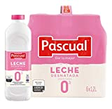 Pascual Leche Desnatada 0%, Pack de 6 x 1200ml