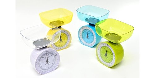 Stube Mechanische Küchenwaage Gewicht max 5kg Farbe grün–daisy 343