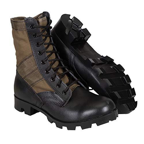 """Stansport Mens Jungle Boots - O.D. - 10W, Od Green/Black, 12"""" L x 4.13"""" W x 9.25"""" H"""