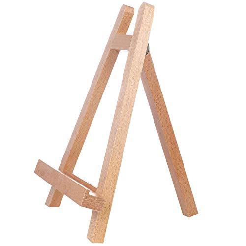 Ssuger9 11 'trípode de madera portátil de mesa pequeño caballete para dibujar pintura pequeño artista caballete fase marco