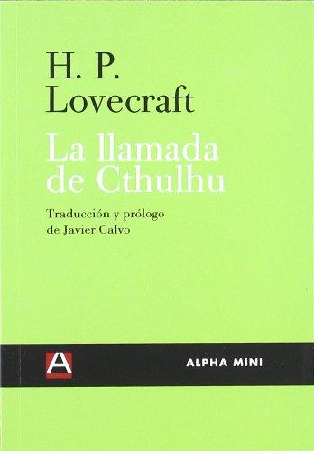 LA LLAMADA DE CTHULHU (ALPHA MINI)