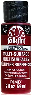 FolkArt Multi-Surface Paint in Assorted Colors (2 oz), 2900, Cardinal Red (B00CIW3EPG) | Amazon price tracker / tracking, Amazon price history charts, Amazon price watches, Amazon price drop alerts