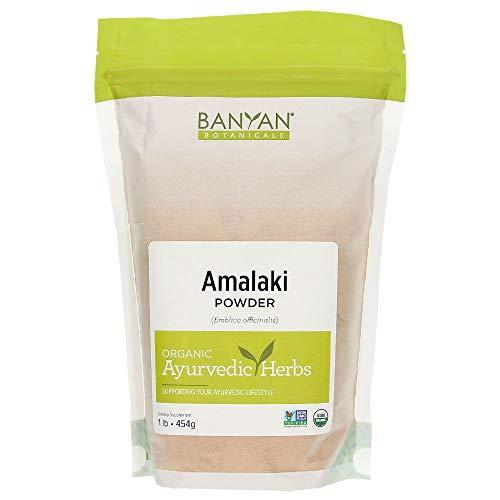 Banyan Botanicals Amalaki Powder – Organic Amla Powder – Nourishing, Gently Cleansing, Supports The Immune System & Promotes Healthy Energy* – 1lb. – Non GMO Sustainably Sourced Vegan