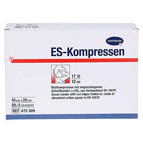 ES-Kompressen Steril 10x20 cm Großpackung, 20X5 St