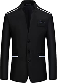 Mens Casual Blazer Slim Fit Suit Jacket Lightweight Stylish Sports Coat