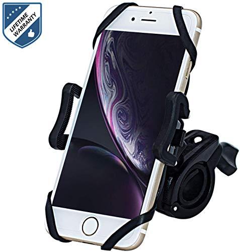 Fahrrad Handyhalterung, Motorrad Fahrrad Lenker 360 Grad Drehung Outdoor Fahrradhalterung 4,3-6,5 Zoll Smartphone