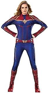 TOYSSKYR Sorpresa Capitan Costume Cosplay Donna Adulto Halloween Anime Avengers Movie Costume Puntelli