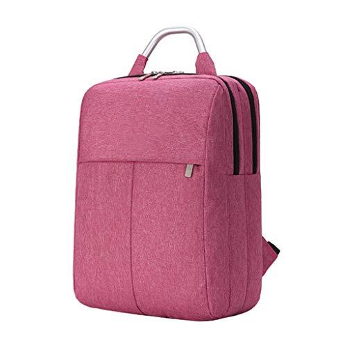 KKCD Mannen Vrouwen Laptop Rugzak Voor 14 15.6 Inch Notebook Computer Rugzak School Student Bag Rugzak Voor Tiener Jongens Meisjes, Rood