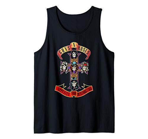 Guns N' Roses Official Cross Tank Top
