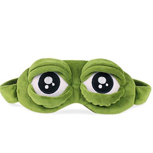 ODN Masque élastique Drôle Ajustable Frog Eyes Masque de...
