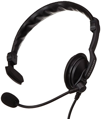 Kenwood KHS-7A - Auriculares para TK-3301, color negro