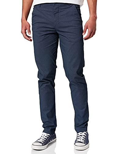 Springfield Pantalón Chino, Azul Oscuro, 44