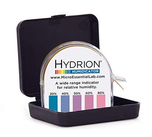 Micro Essential Lab HJH-650 Hydrion Humidicator Paper for Detection and Estimation of Moisture