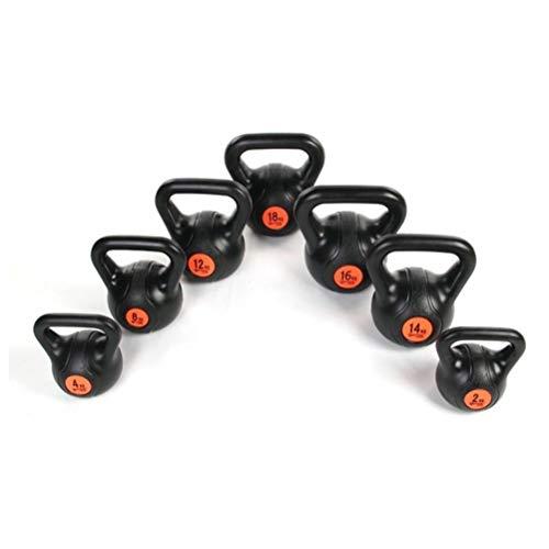Kettlebells WXYZ Respetuoso del Medio Ambiente PP Fitness Pesas Rusas, Lleno De Arena Solidificada, Gimnasio En Casa Fuerza Equipo De Formación, 2kg-20kg (Size : 6kg)