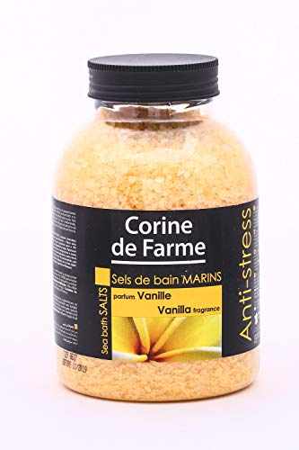 Corine de Farme Natural Sea sali Anti-Stress sali da bagno con vaniglia 1.3 kg