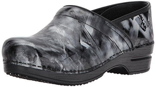 Sanita Women's Smart Step Piper Work Shoe, Black, 36 EU/5.5/6 M US