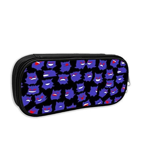 ゲンガー ペンケース 筆箱 ペンポーチ 大容量 ペンバッグ ツールバッグ 部品袋 化粧品バッグ 化粧ポーチ 高校生 男子 女子 おしゃれ かわいい 大容量 収納 小物入れ 中学生 小学生 シンプル オフィス用プレゼント