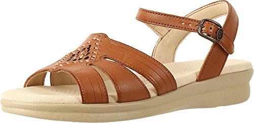 SAS Women's Huarache Sandals (10 (W) Wide, Antique Tan)