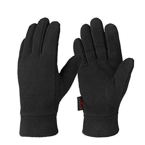OZERO Winter Handschuhe, Polar Fleece Thermo Handschuhe für die Hände warm zu halten, für Herren und Damen, 1 Paar