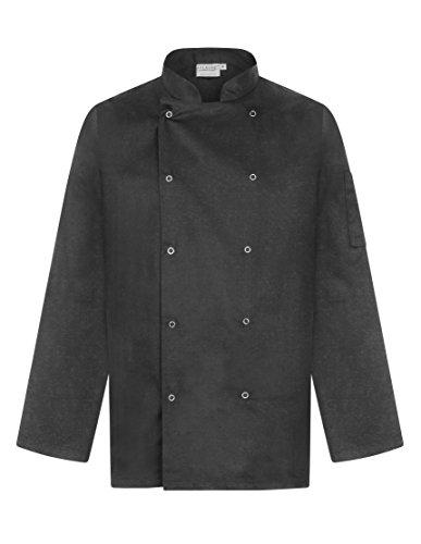 ProLuxe Giacca Cuoco Professionale - Manica Lunga - Unisex - vestibilità Moderna