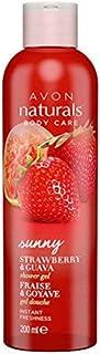 Naturals Strawberry & Guava Shower Gel by Avon 200ml [53470]