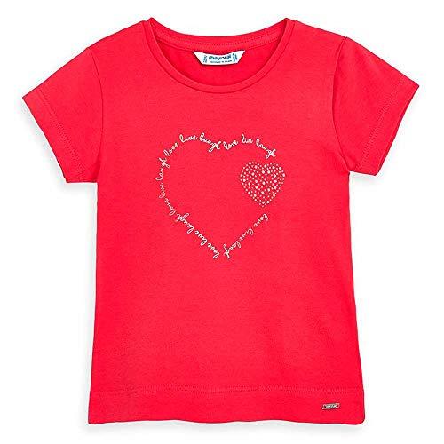 Mayoral Camiseta Lazada niña Color Sandia