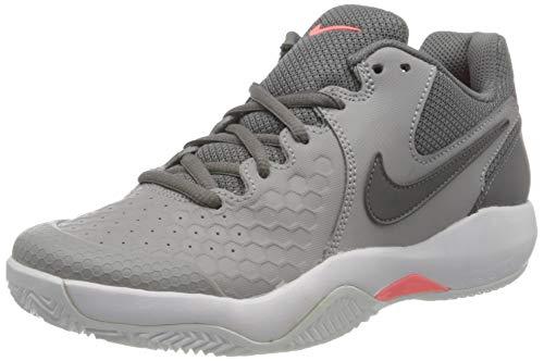 Nike Damen Tennisschuh Air Zoom Resistance Fitnessschuhe, Mehrfarbig (Atmosphere Grey/Guns 013), 40 EU