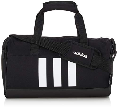 Adidas 3S DUF XS Sports Bag, Unisex Adult, Black/Black/White, One Size