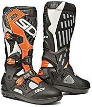 ブーツ SIDI ATOJO(アトヨ)SRS(交換式ソール)  ホワイト/ブラック/フローオレンジ モトクロス 正規輸入品 WESTWOODMX (10/44)