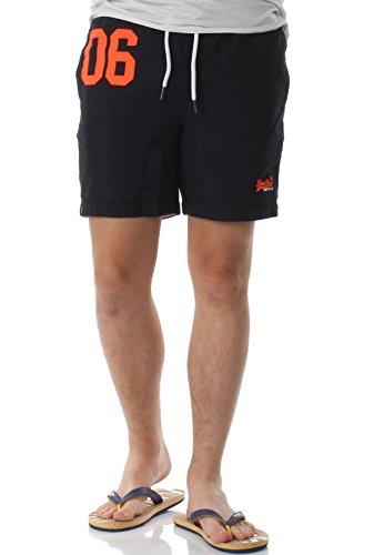 Superdry Herren M30001PQF2 Shorts, Blu (Darkest Navy), Small