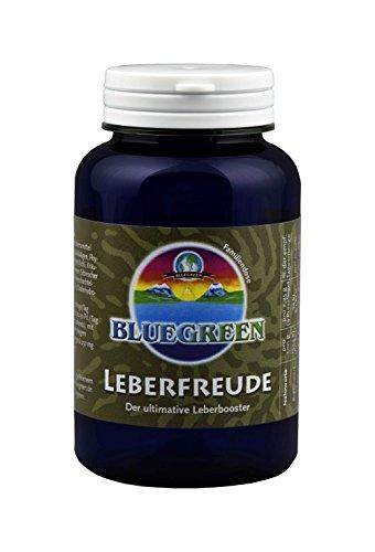 BLUEGREEN LEBERFREUDE 90 g aprox 360 pressling lata familiar