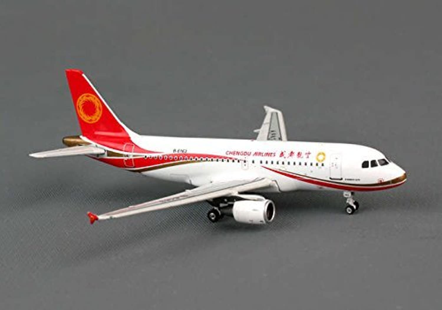 PH4UEA1141 Phoenix Chengdu Airlines A319 Model Airplane