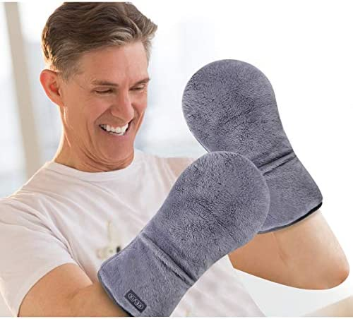REVIX Heated Mitts for Arthritis and Hand Therapy Microwavable Hand Warmer Gloves for Women product image