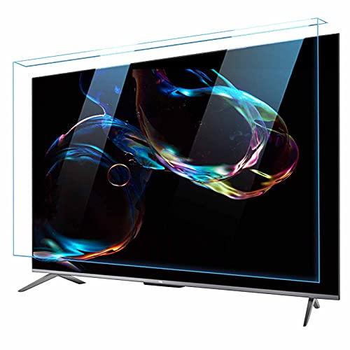 JHZDX Película De Protección De Pantalla De TV Anti Azul, Panel De Protección De Monitor De Acrílico Colgante, Película De Filtro De Protección Ocular HD Ultrafina, Anti Ultravioleta,65in(1455×840mm)