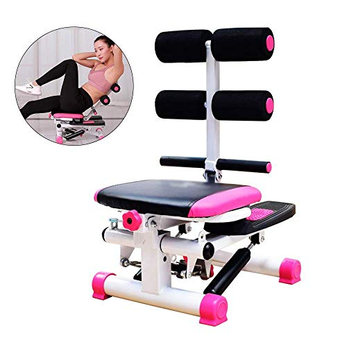 Abdominale Twister Trainer, Helling Ab Exerciser met Stepper for Crunch Sit Up Oefening Abdominale Workout, Multifunctioneel Opvouwbaar Fitness for thuis LOLDF1