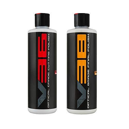 Chemical Guys GAP_VKIT_101 V36 Optical Grade Cutting Polish and V38 Final Polish 16 Ounce 2 Items