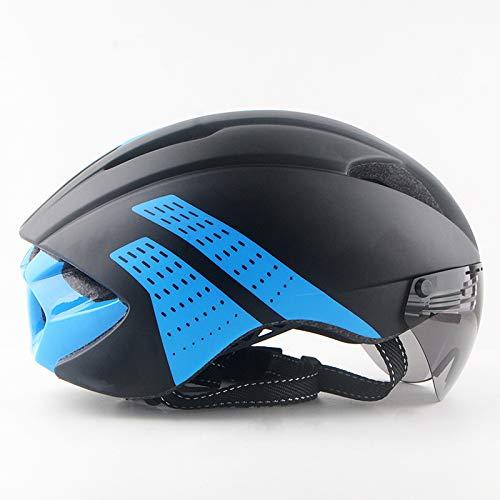 BOC Czz Fahrradhelm, Männlicher Und Weiblicher Gebirgsfahrradhelm, Glasschutzbrillenhelm,E,Helm