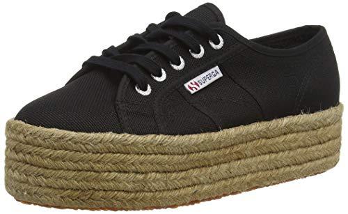 Superga 2790-COTROPEW, Sneaker Unisex-Adulto, Nero (Black S999), 37 EU