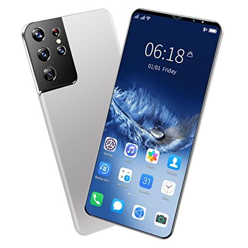 ZRN Teléfono Android - Smartphone Desbloqueado con cámara de píxeles Avanzada - 64 GB - Cámara de 48 MP