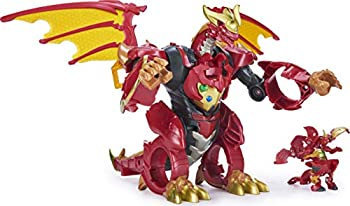 Bakugan Dragonoid Infinity Transforming Figure with Exclusive Fused Ultra and 10 Baku-Gear Accessories