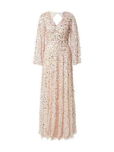 Maya Deluxe Damen Abendkleid rosa 10 (38)