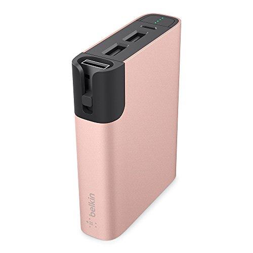 Belkin 6600 mAh MIXIT Power RockStar Powerbank - Black/Pink/Gold