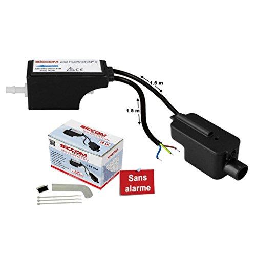 Kondensatpumpe – 10 Liter pro Stunde – für Klimaanlage bis 8 kW – ohne Alarm – eid Verteilung nach 00