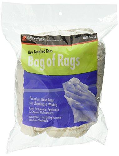 Unbekannt Buffalo Industries (60205) New Hoppediz Knit Reinigungstuch Hadern–1/2lb. Bag