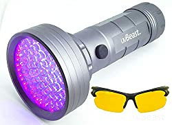 uvBeast Blacklight for Finding Cat Pee Spots