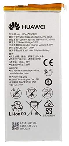 Batteria Pila Originale Huawei P8 GRA-L09 HB3447A9EBW OEM Ascend Interna BULK CORRIERE RICAMBIO Interno Akku Genuine per Cellulare