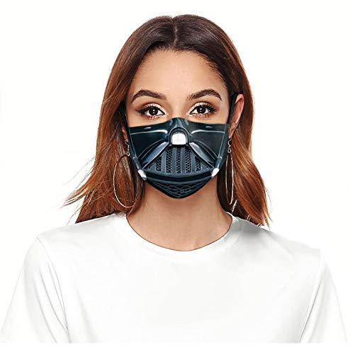 ROXX StarW (DarthV) Outdoor Mask with Changeable Filter Filters Dust Includes 1 Filter